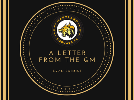 A Letter from GM Evan Raimist