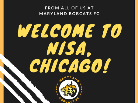 Maryland Bobcats FC Welcome Chicago NISA!
