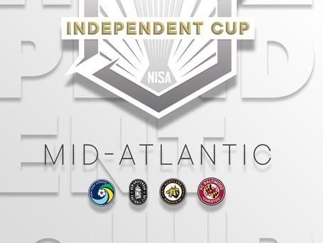 NISA INDEPENDENT CUP MID-ATLANTIC REGION SCHEDULE UPDATE