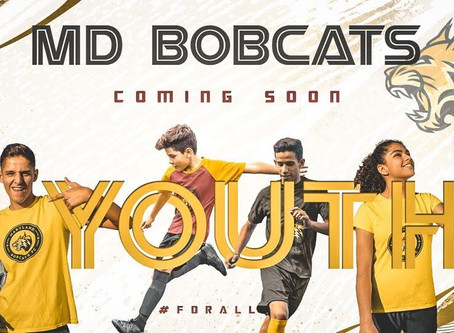 Maryland Bobcats FC Announce Youth Program and Training