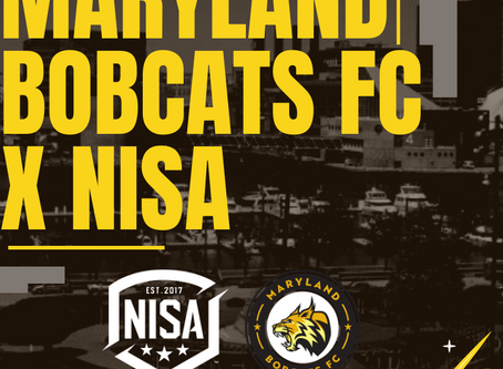 Maryland Bobcats FC Officially Welcomed by NISA