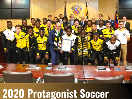 "Maryland Bobcats FC are Protagonist Soccer's 2020 ""Club of the Year""!"