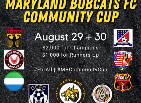 "2nd Annual ""Maryland Bobcats Community Cup"" Announced"