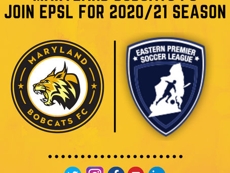 Maryland Bobcats FC to Join EPSL for 2020/21 Season