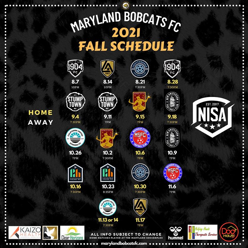 Maryland Bobcats FC vs. New Amsterdam FC