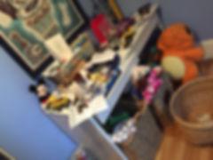 kid's room/desk - before