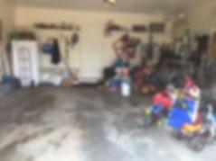 Organizing Edmonton | garage - before