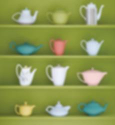 Organizing Edmonton | teapot collection