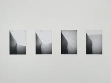 Untitled (Atlantic Ocean), 2019. Set of four photographs, silver gelatin prints, 9.25 x 6 in each (23.5 x 15.5 cm each). Ed. 5/5
