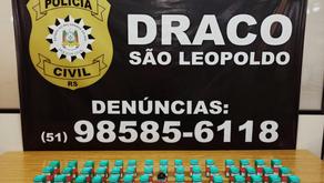 Polícia Civil prende, na Campina, veterinário que distribuía produtos para produzir droga sintética
