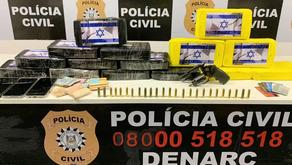 Denarc apreende meio milhão de reais em drogas durante ação em Porto Alegre