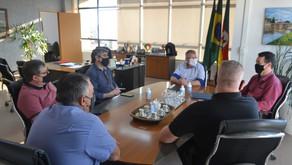 Prefeito Ary Vanazzi recebe o Conselho de Pastores de São Leopoldo