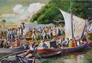 Ernst Zeuner e a tela da chegada dos alemães a São Leopoldo