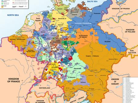 1º Capitulo - Os Estados Germânicos: uma colcha de retalhos
