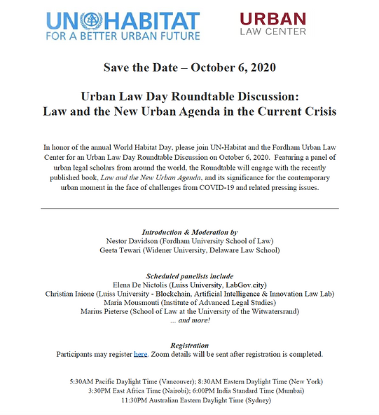 For Twitter_Save the Date_Urban Law Day.