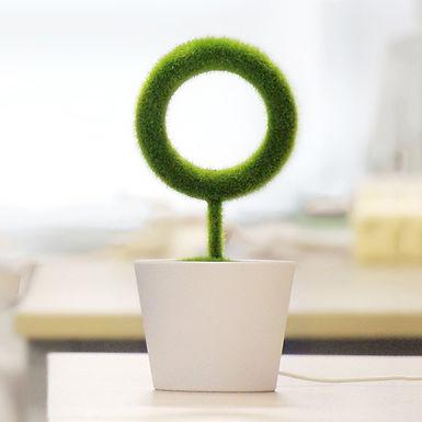 Air Ionizer - Green Plant