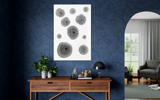 """Pousch Interio - Clean Stains - Modern Wall Art Painting 36""""x24"""""""