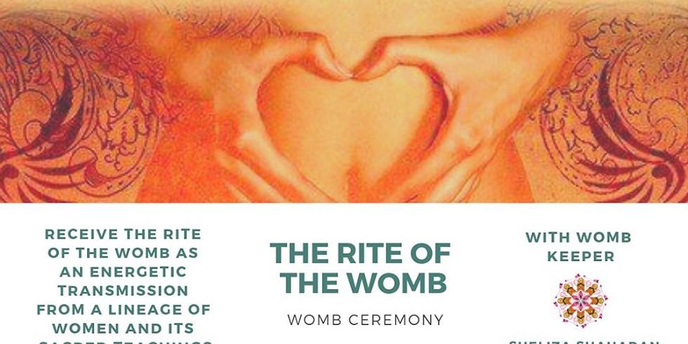 The Rite of the WOMB Ceremony by Sheliza Shahadan