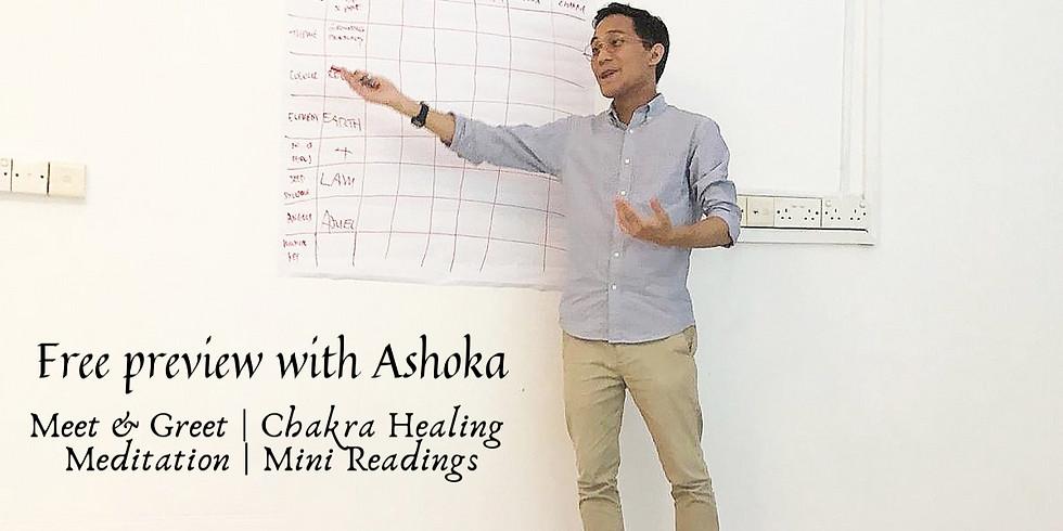 Free Preview with Ashoka (Meet & Greet)