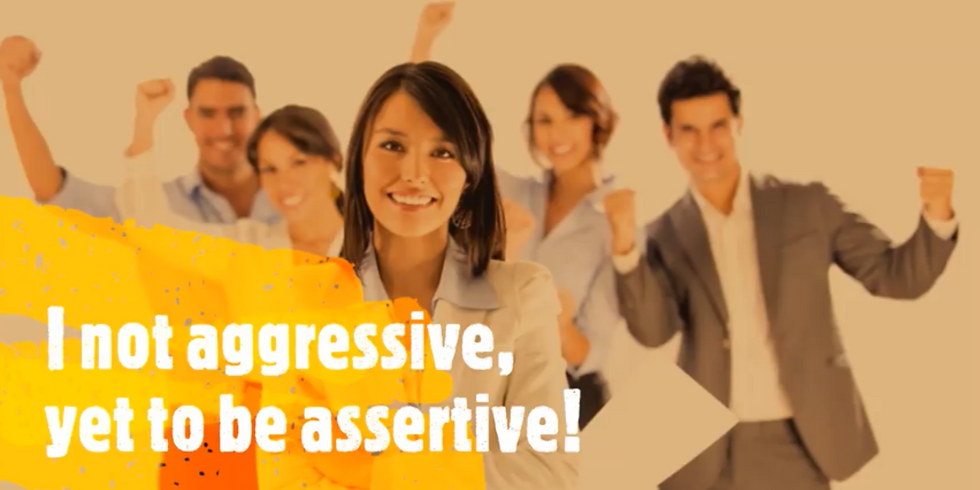 """Life Coaching- """"I not aggresive, Yet to be assertive!"""""""