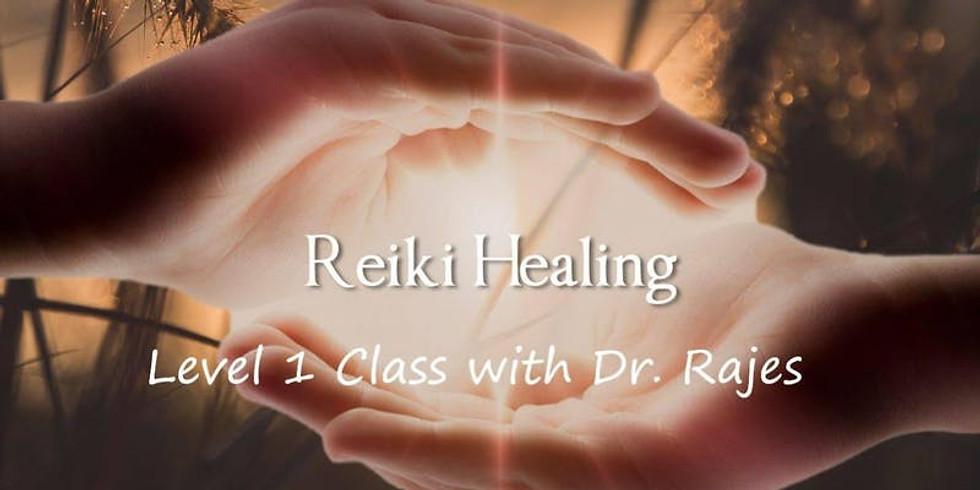 Workshop- Reiki Healing Level 1 with Dr Rajes