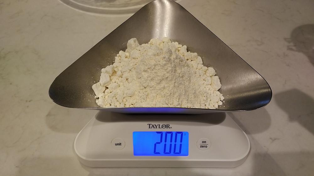 100g einkorn flour