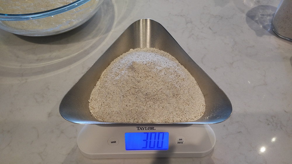 150g of rye flour