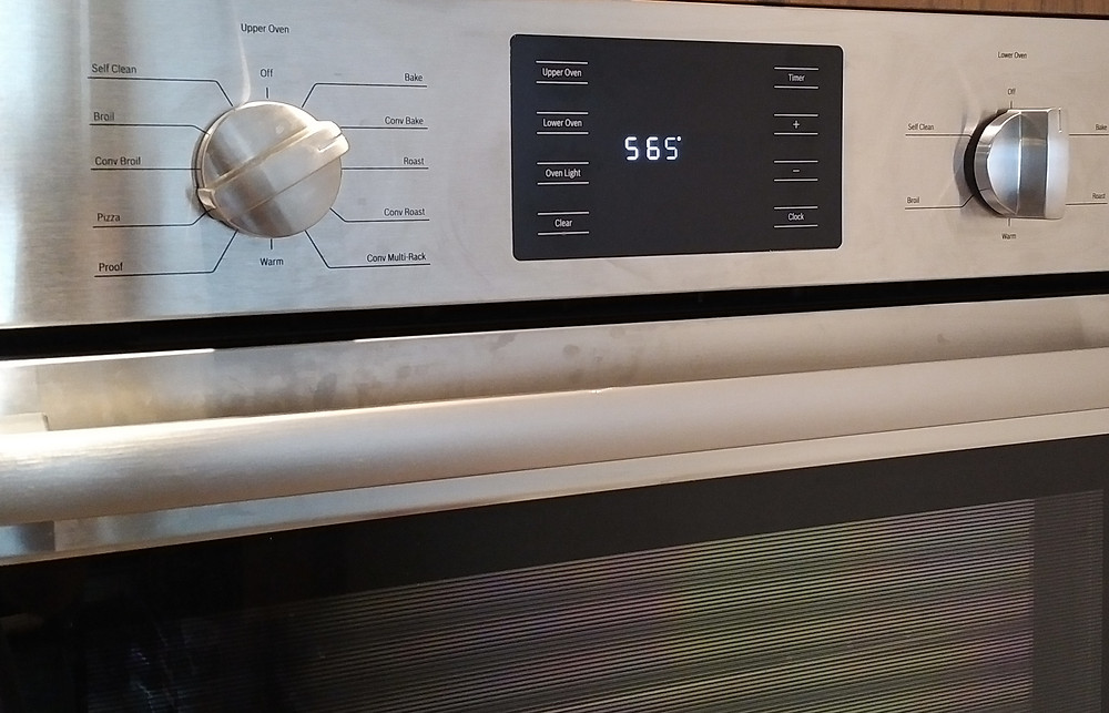 Heat oven to 565 degrees
