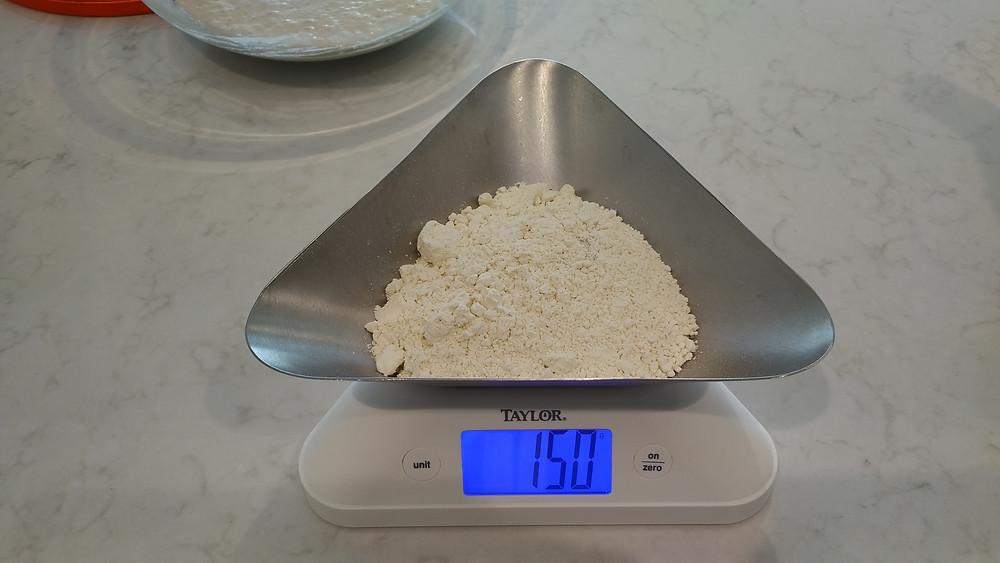 50g einkorn flour