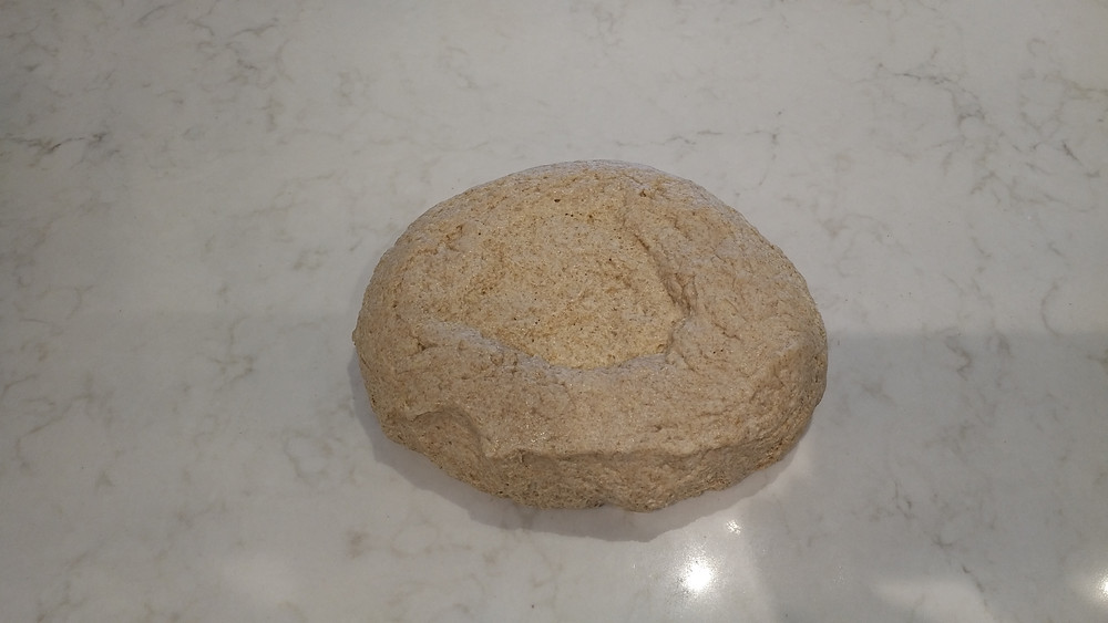 Flipped dough