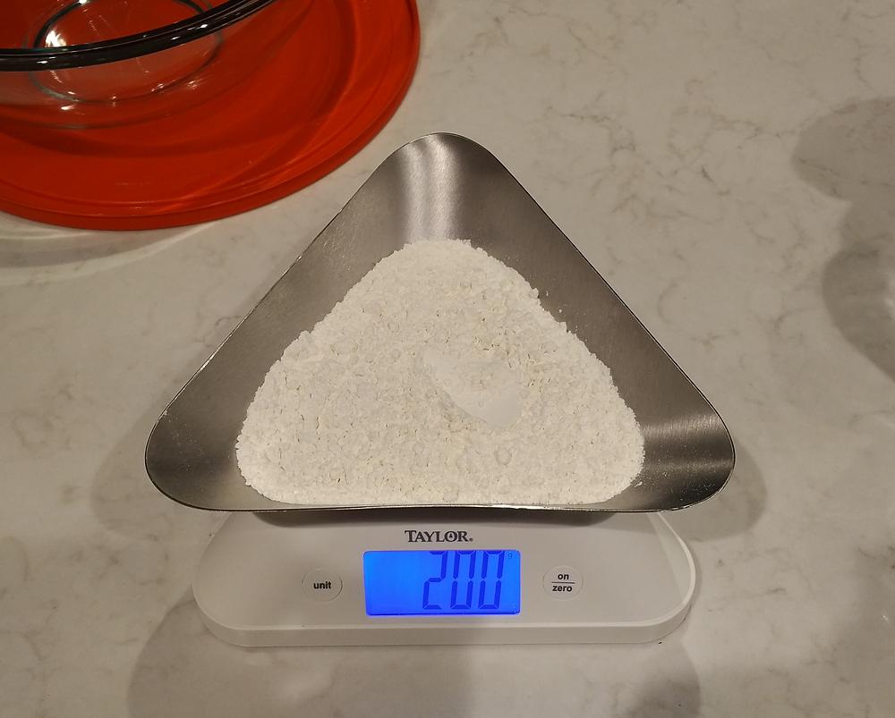 200g of typo 00 flour