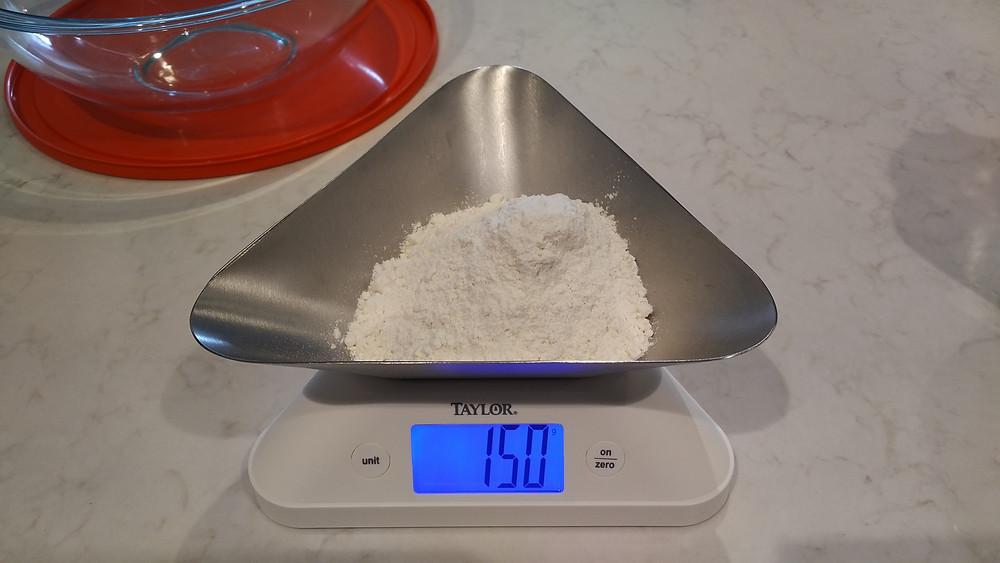150g all purpose flour