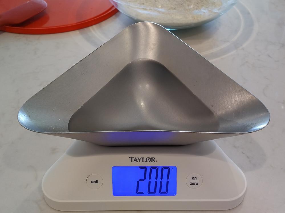Add 200g water