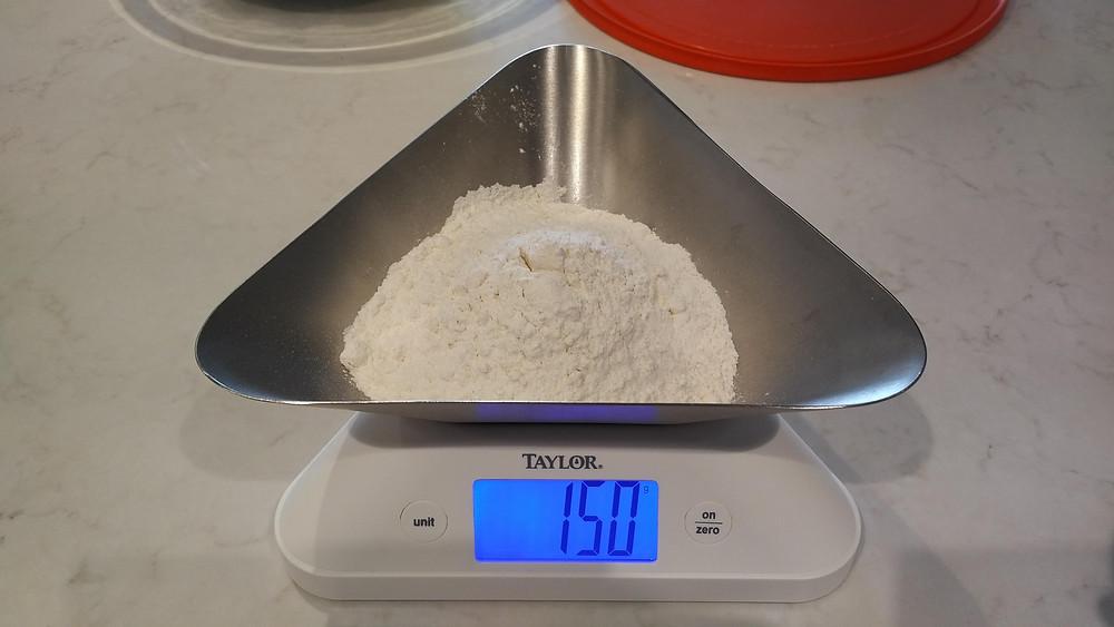 150g bread flour