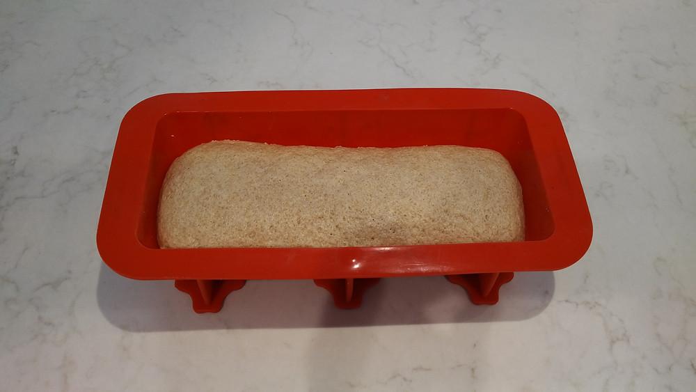 Loaf in pan
