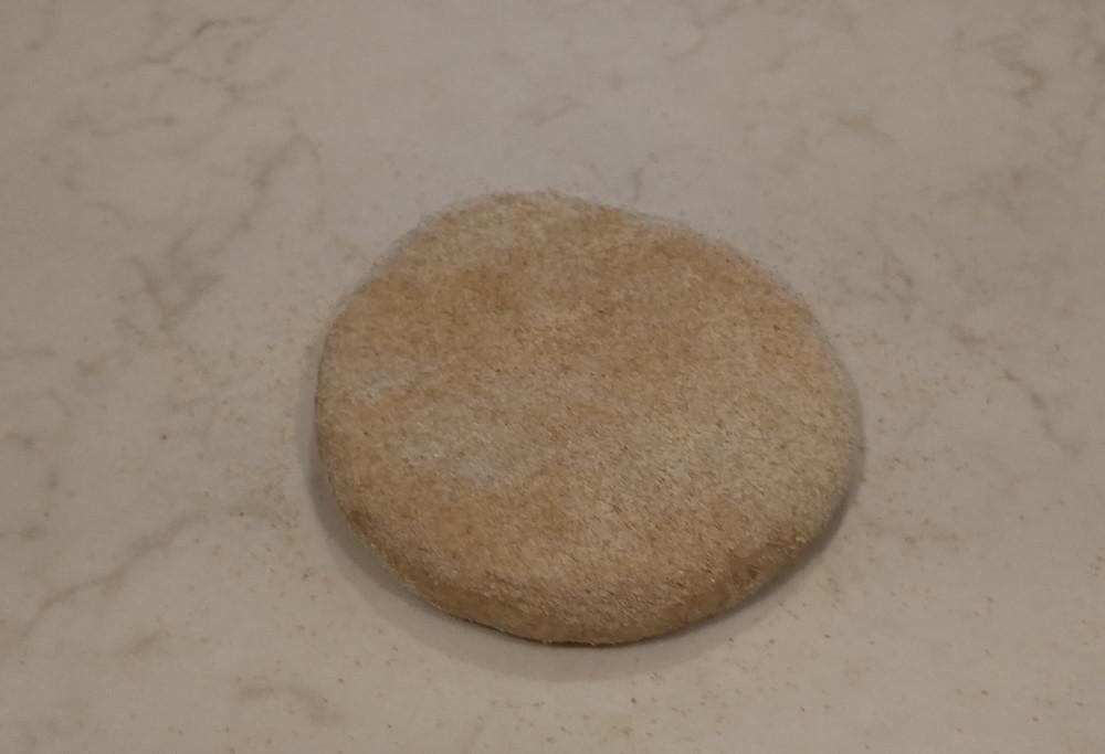 Fourth dough floured