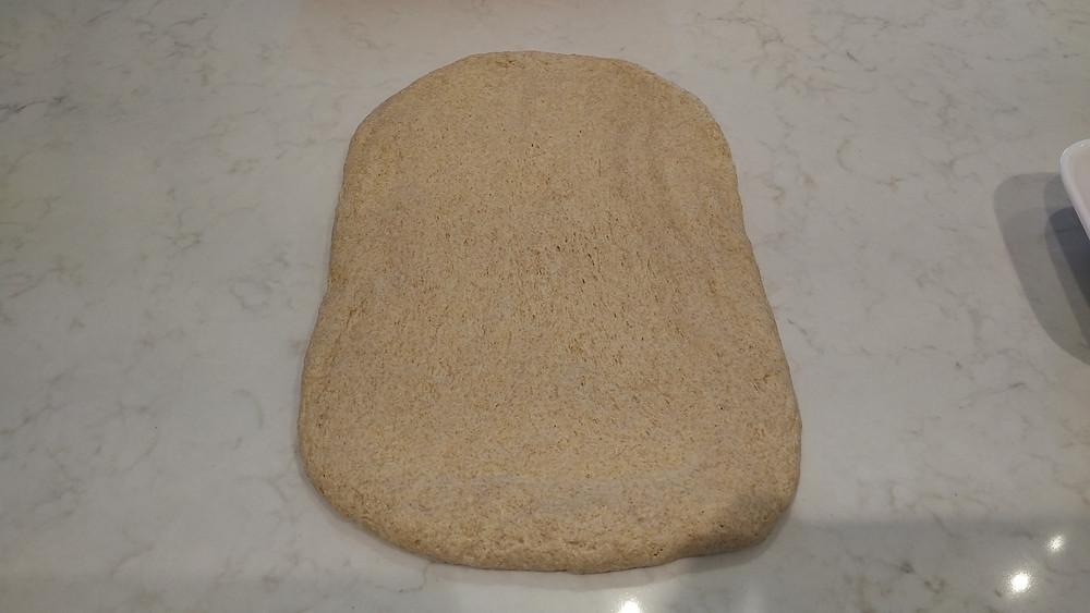 Spread dough