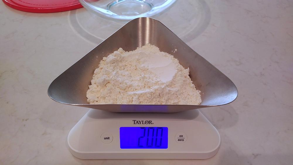 200g flour