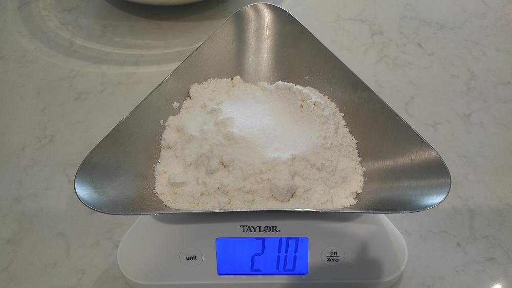 10g of salt
