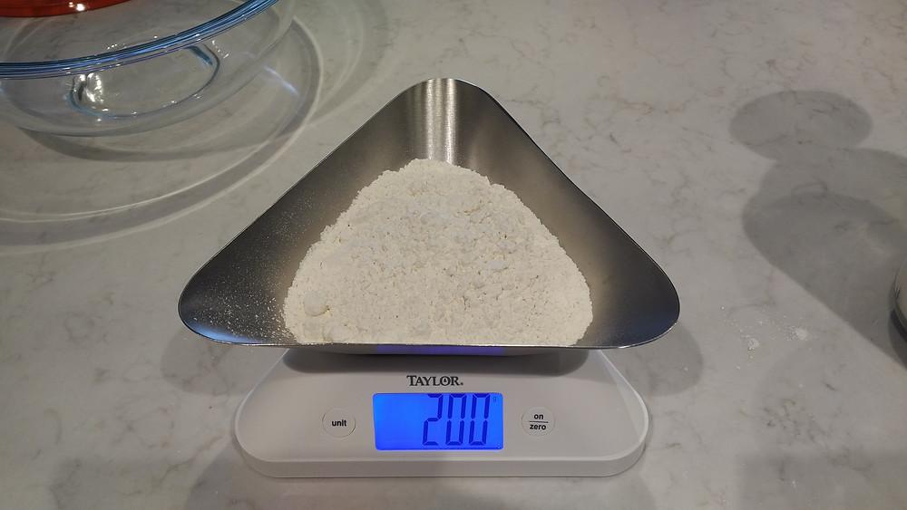 200g bread flour