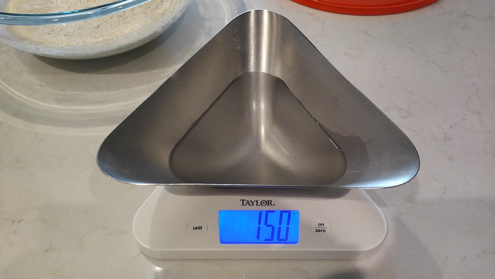 150g water