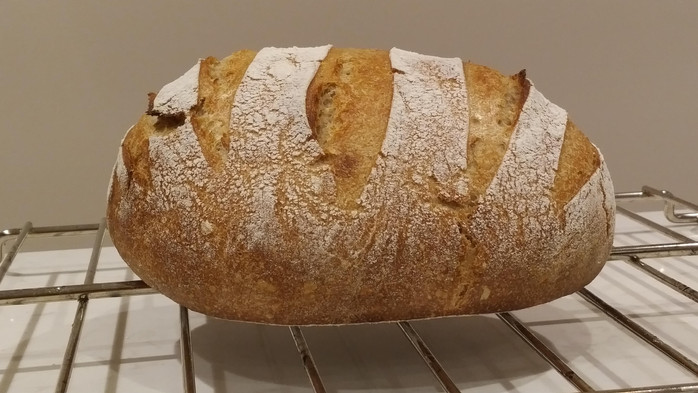 It can't get simpler: no-knead bread