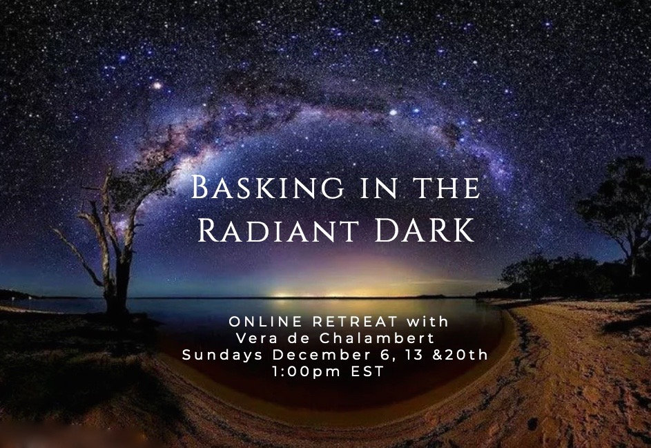Basking in the Radiant Dark