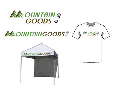 Mountain Goods Logo Design