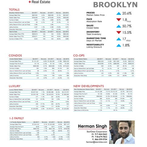 StarCities Quarterly Sales Report