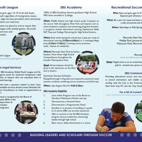 SBU Trifold Brochure inside