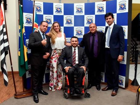 Vereador Nilson Cadeirante é o novo presidente da Câmara parnaibana