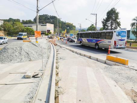 Obras para melhorar o trânsito na região da Cohab chegam a 60% de conclusão