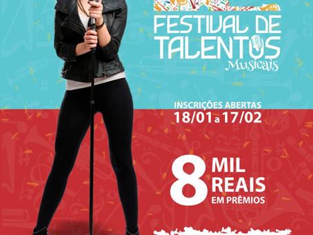 O Tenor Irailton Cunha e o Plaza Shopping Carapicuíba traz para você Festival de Talentos