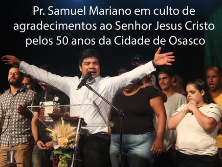 Pr. Samuel Mariano e Alisson Santos em Osasco.